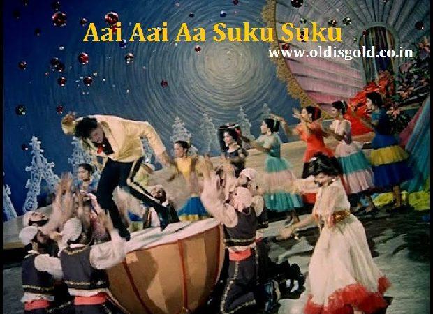 Aai Aai Aa Suku Suku-junglee(1961)-shammi kapoor-helen-mohammed rafi