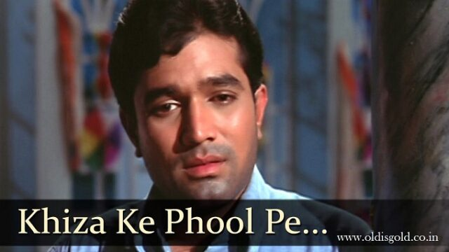 Khiza Ke Phool - Kishore Kumar Superhit Old Hindi Karaoke Song - Do Raaste - Rajesh Khanna__www.oldisgold.co.in