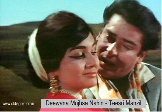 Deewana Mujhsa Nahin – Teesri Manzil| Mohd Rafi Evergreen Hits – Old is Gold songs